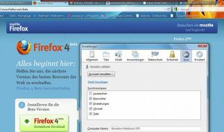Mozillas Browser Firefox 4 (Foto)
