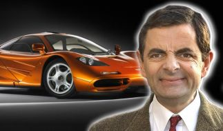 Mr. Bean knapp am Tod vorbei (Foto)