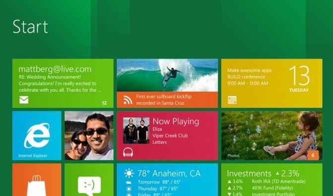 MS erfindet Windows neu - fürs Tablet-Zeitalter (Foto)