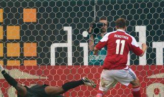 Müde Dänen nicht in EM-Form - 1:3 gegen Brasilien (Foto)