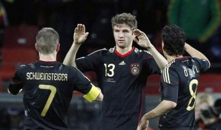 Müller, Özil, Schweinsteiger (Foto)