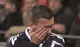 Münzwurf gegen Podolski: Mainz erwartet harte Strafe (Foto)