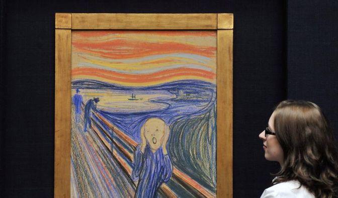 Munchs «Schrei» könnte Auktionsrekord brechen (Foto)