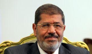 Mursi schickt Israel Friedens-Botschaft (Foto)