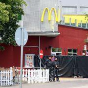 Nach dem Amoklauf in München: Fassungslosigkeit und Entsetzen. (Foto)