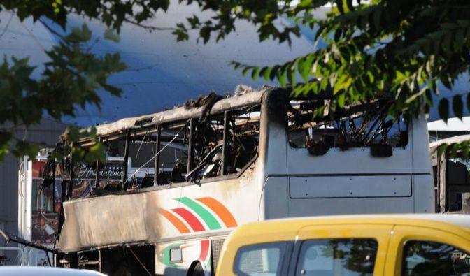 Nach israelischen Angaben wurden bei der Bombenexplosion in einem Reisebus in Bulgarien mindestens acht Menschen getötet, unter ihnen sechs israelische Staatsbürger. (Foto)
