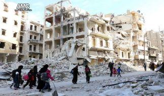 Nach Angaben der Vereinten Nationen haben seit Beginn der Offensive mehr als 10.000 Menschen ihre Häuser im Osten der Stadt verlassen und befinden sich seitdem auf der Flucht. (Foto)