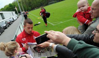 Nach Arsenal-Wechsel: Endlich Klarheit um Podolski (Foto)
