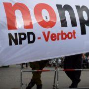 Nach Bayern plädieren auch Thüringen und Schleswig-Holstein für ein neues NPD-Verbotsverfahren.