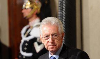 Nach Berlusconis Rücktritt soll Monti regieren (Foto)