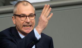 Nach dem Drogen-Skandal um Grünen-Politker Volker Beck hat die Berliner Staatsanwaltschaft nun die Aufhebung seiner Immunität beantragt. (Foto)