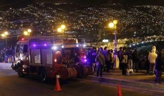 Nach einem Erdbeben in Chile warnen die Behörden vor einem Tsunami im Pazifik. (Foto)