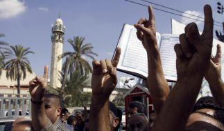 Nach den heutigen Freitagsgebeten werden wieder Unruhen wegen des Mohammed-Schmähfilms erwartet. (Foto)