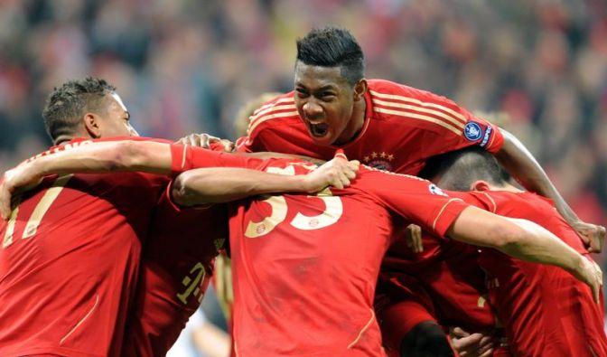 Nach Fußball-Feuerwerk: Bayern hoffen auf Losglück (Foto)