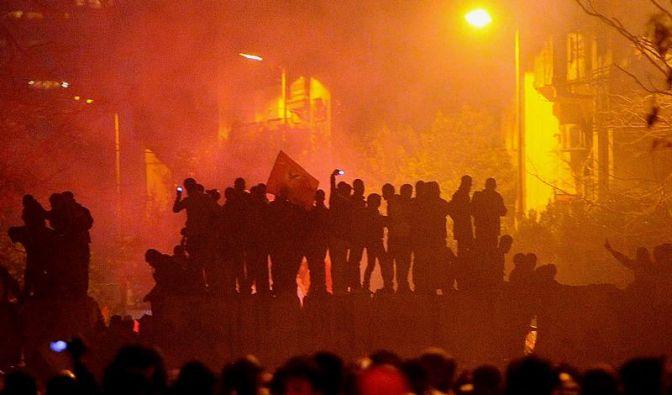 Nach Fußball-Tragödie: Straßenschlachten in Ägypten (Foto)