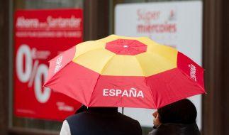 Nach dem Hilferuf am Montag kein Wunder: Moody's hat 28 spanische Banken herabgestuft. (Foto)