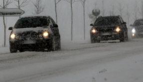 Nach Schnee kommt Regen: Blitzeis droht (Foto)