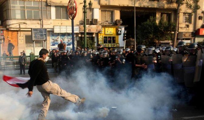 Nach Tunesien: Massenproteste in Ägypten (Foto)