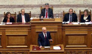 Nach Vertrauensvotum: Hängepartie in Griechenland (Foto)
