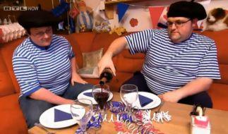 Nadja und Ingo kommen sich bei einem französischen Abend näher. (Foto)
