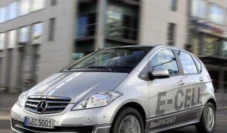 Nächste Mercedes A-Klasse regulär auch als Elektroauto (Foto)