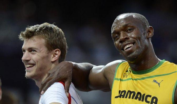 Nächstes Gold-Duell: Bolt & Blake im 200-Meter-Finale (Foto)