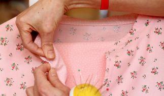 Nähen und Stricken wieder in Mode (Foto)
