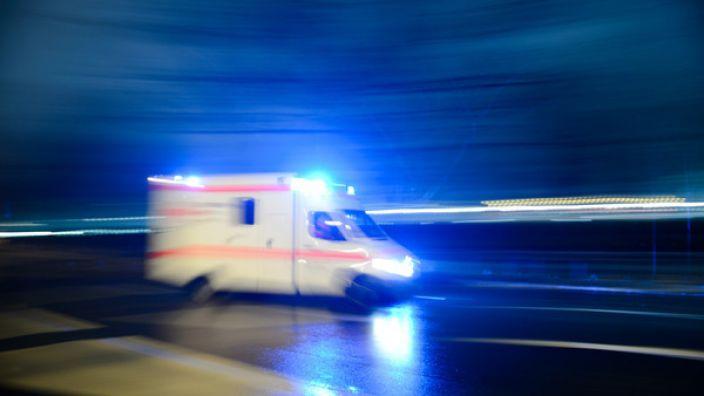 Nahe Heidelberg hat eine Schwangere ihr ungeborenes Baby bei einem Unfall verloren hat. (Foto)