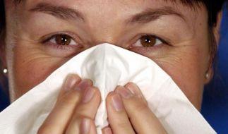 Nasendusche und Spray für eine freie Nase (Foto)
