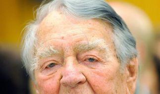 Nationalakademie ehrt früheren Krupp-Manager Beitz (Foto)