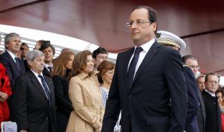 Nationalfeiertag: Hollande spricht über Trierweiler-Affäre (Foto)