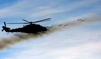 Nato-Hubschrauber bombardiert pakistanischen Posten (Foto)