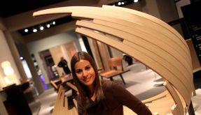 Natürlichkeit gefragt: Möbelmesse zeigt neue Trends (Foto)