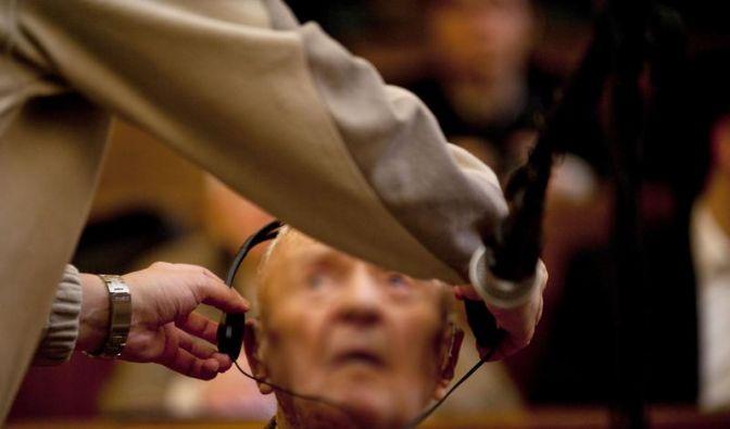 Nazi-Verbrecher-Prozess in Ungarn (Foto)