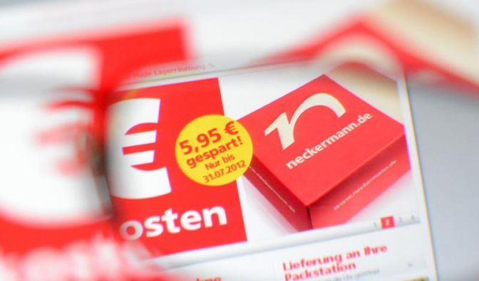 Neckermann.de-Gutscheine möglichst schnell einlösen (Foto)