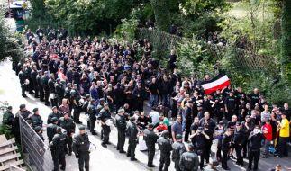 Neonazi-Aufmarsch in Dortmund (Foto)
