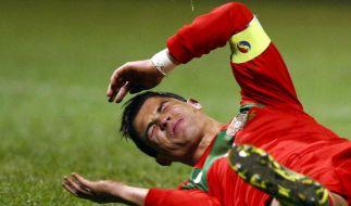 Nervöser Ronaldo bangt um EM-Teilnahme (Foto)