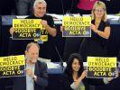 Netzaktivisten jubeln: EU-Parlament kippt Acta (Foto)