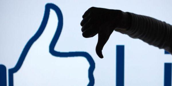 Soziales Netzwerk ausgefallen