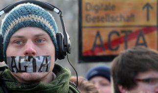 Neue Acta-Proteste in ganz Europa (Foto)
