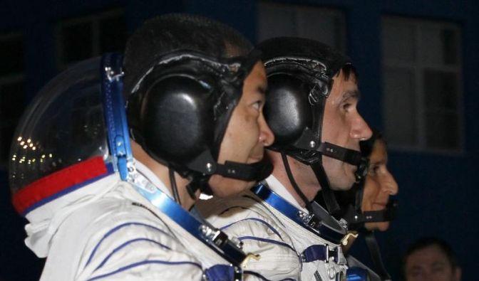 Neue Crew erreicht Internationale Raumstation ISS (Foto)