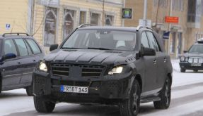 Neue Mercedes M-Klasse 2011 (Foto)