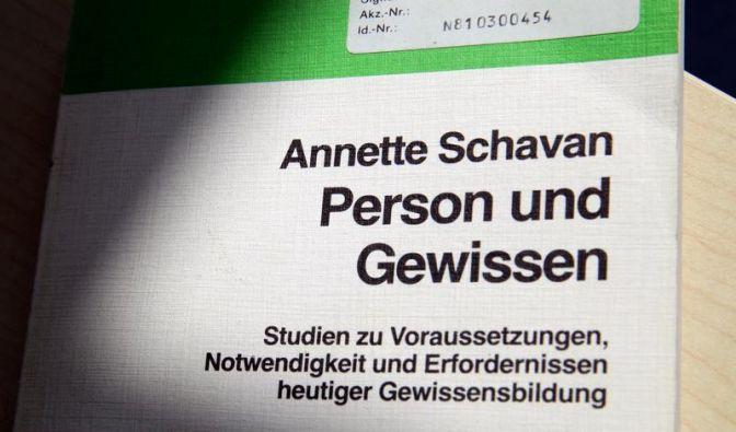 Neue Plagiatsvorwürfe: Schrieb Schavan bei Schavan ab? (Foto)