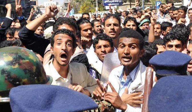 Neue Proteste in arabischer Welt: 27 Tote in Libyen (Foto)