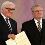 Neue Spekulationen über Steinmeier als Bundespräsident (Foto)