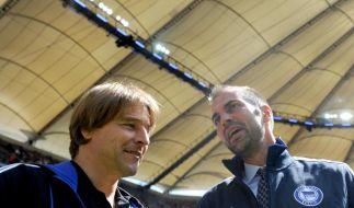 Neue Trainertreue: Hertha und HSV wider den Trend (Foto)