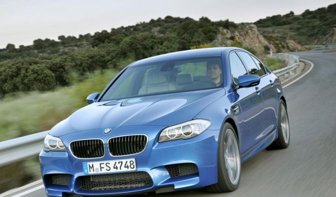 Neuer BMW M5: Bolide in der Businessklasse (Foto)