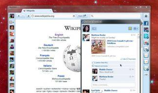 Neuer Browser: RockMelt (Foto)
