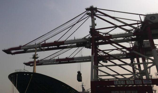 Neuer Dämpfer für China: Exporte wachsen nur minimal (Foto)