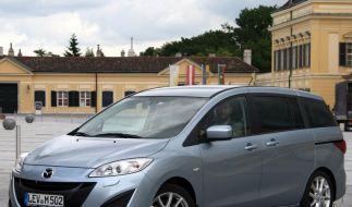 Neuer Mazda5 spätestens ab November erhältlich (Foto)